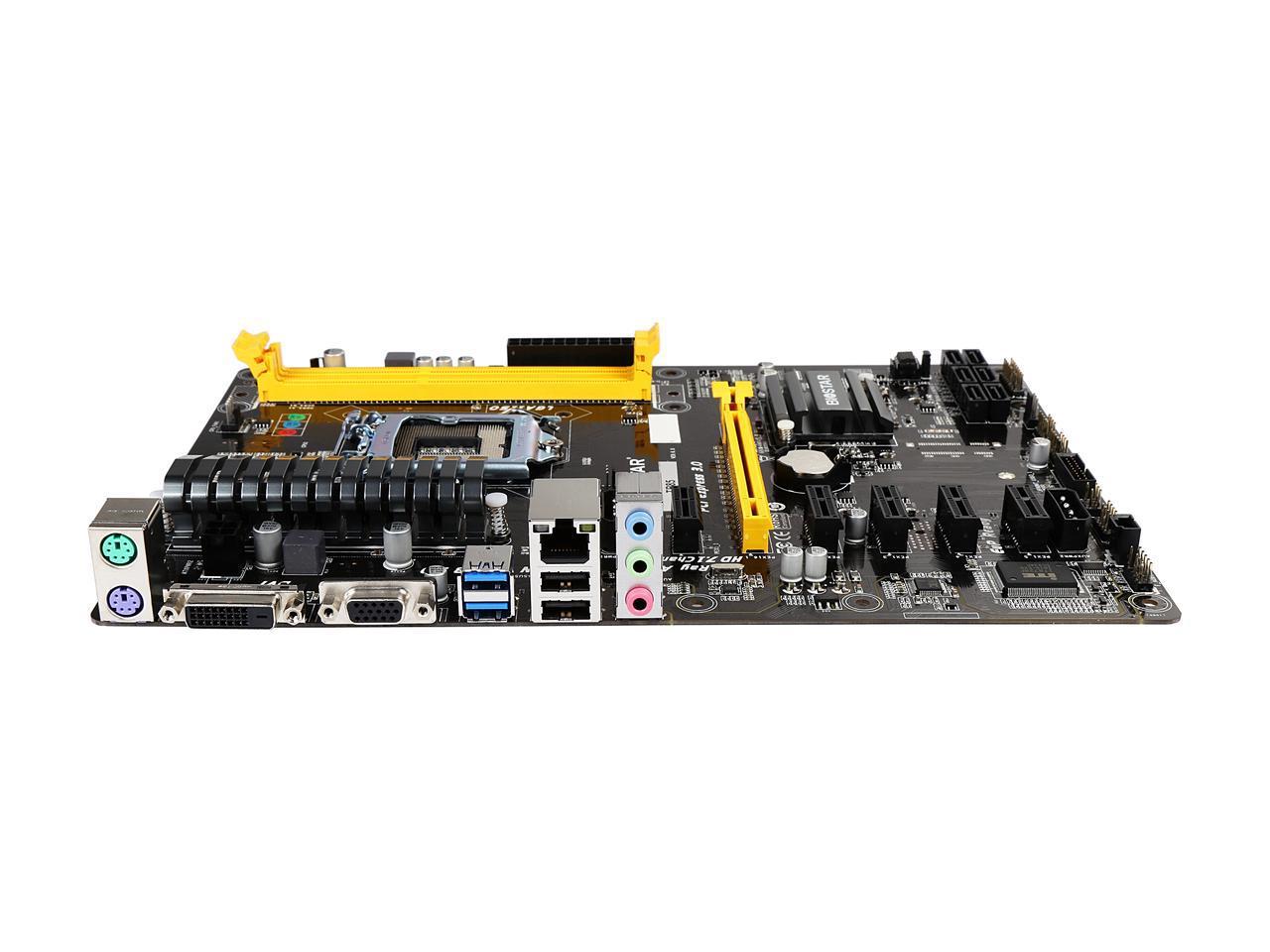 BIOSTAR TB85 LGA 1150 Intel B85 SATA 6Gb/s USB 3 0 ATX
