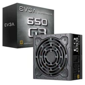 EVGA 650W SuperNOVA G3 Gold Power Supply