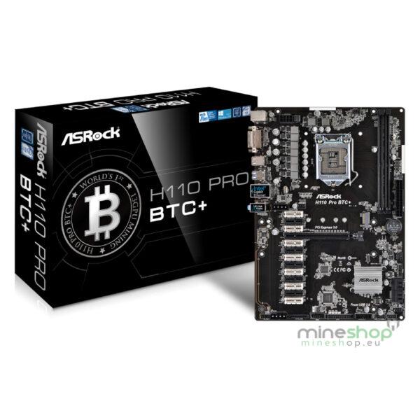 ASRock Intel H110 Pro BTC+