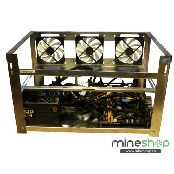6xGPU mining rig setup
