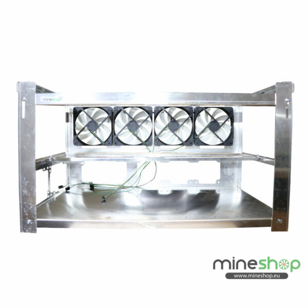 Mining Rig open air frame for 8xGPUs