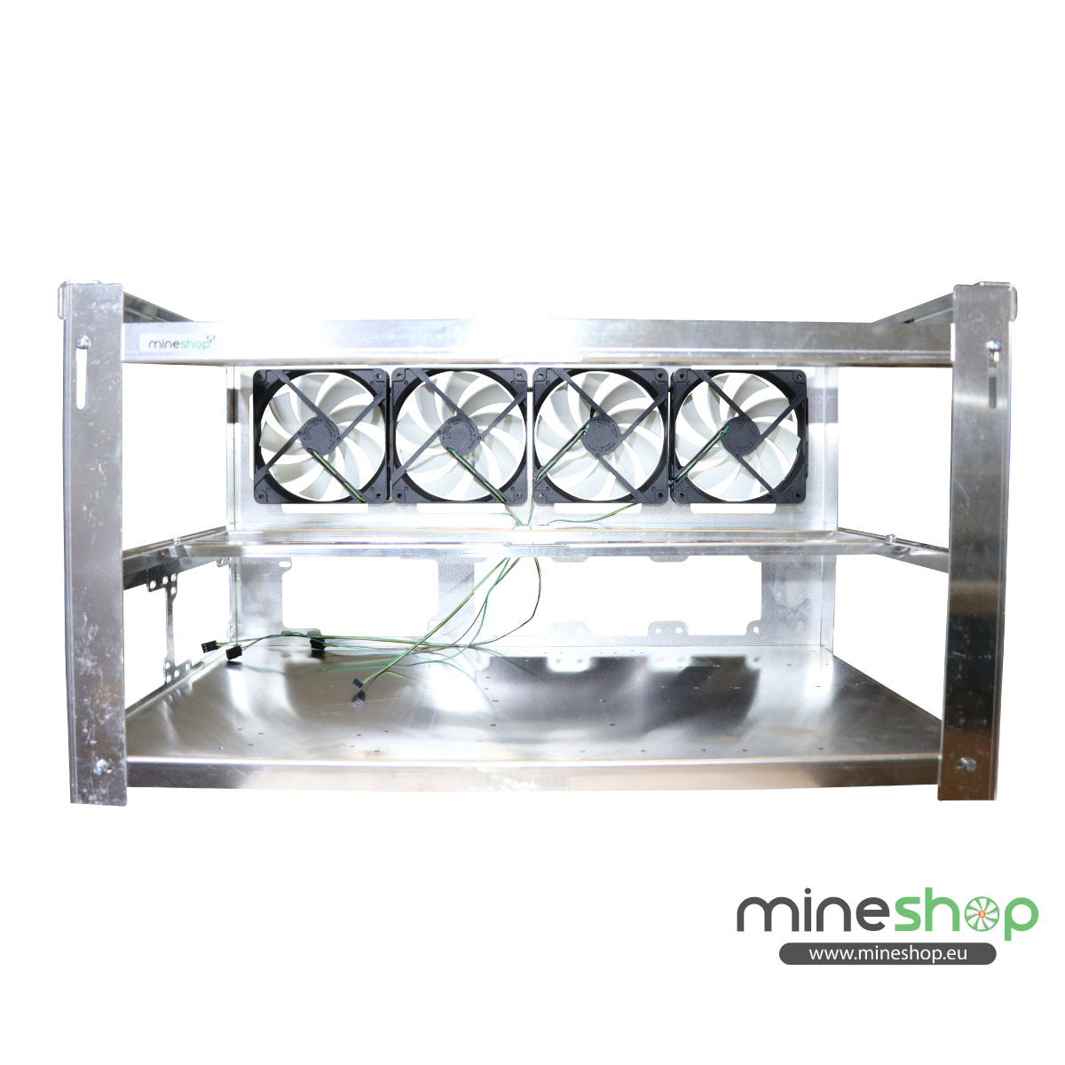 Mining Rig open air frame for 8xGPUs (NEW design) – Mineshop