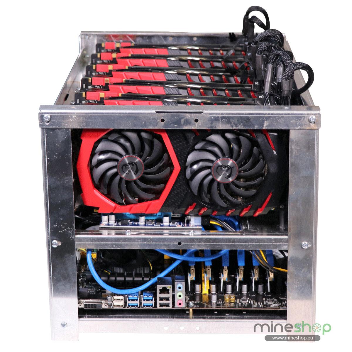 Zcash (ZEC) mining rig 3400 h/s – Mineshop