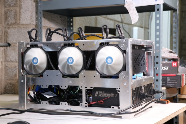 Nvidia GTX 1660TI mining benchmark testing on hiveOS   – Mineshop