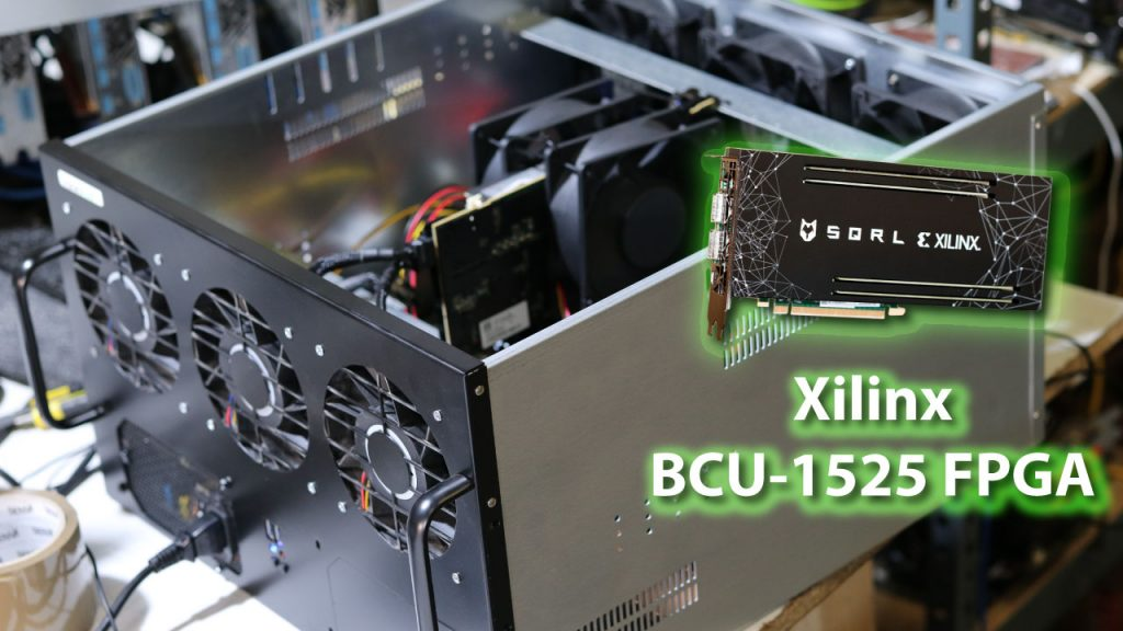 How to seutp FPGA BCU-1525 for mining on windows  – Mineshop